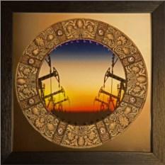 Картина с кристаллами Сваровски Нефть