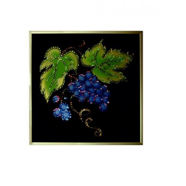 Картина с кристаллами Swarovski Виноградная лоза