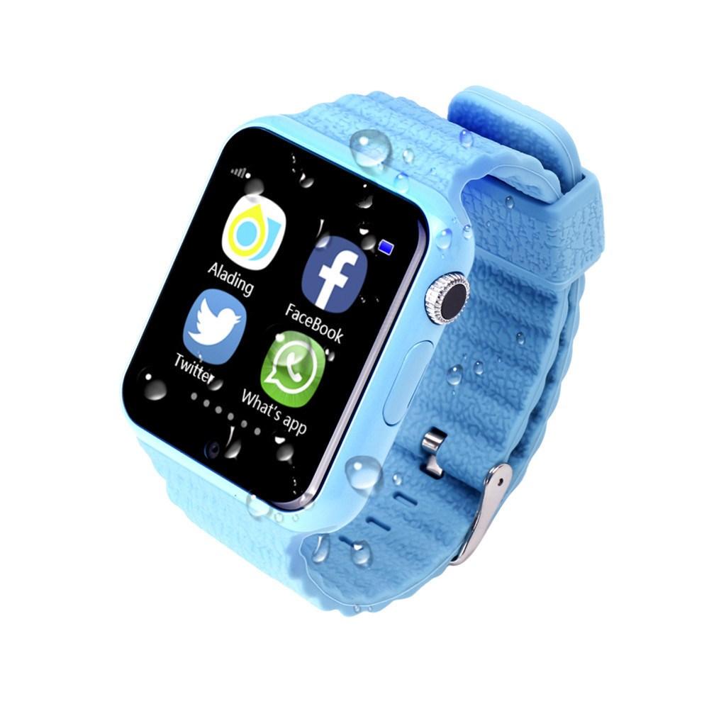 Детские часы Smart Baby Watch Х10 (цвет — голубой)