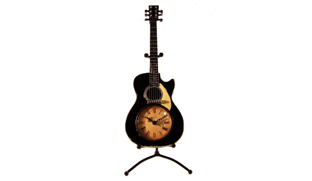 Часы Чёрная гитара