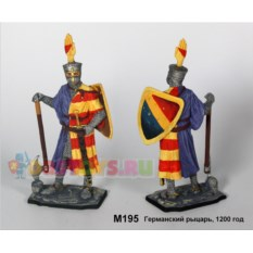 Оловянный солдатик Германский рыцарь, 1200 год