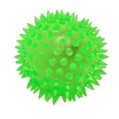 Детский мяч-прыгун с шипами и светом (6,5 см)