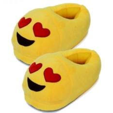 Тапочки Emoji Love