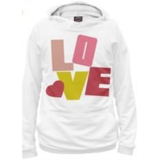 Худи Любовь и буквы