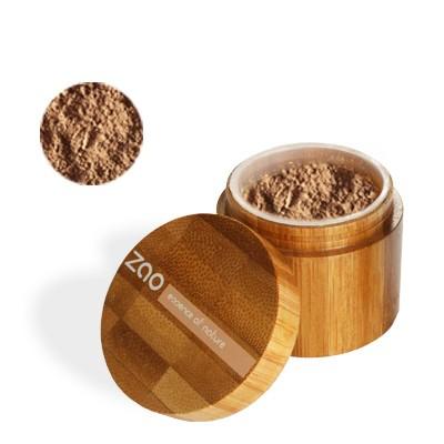 Минеральная рассыпчатая пудра 506 (коричнево-бежевый) zao