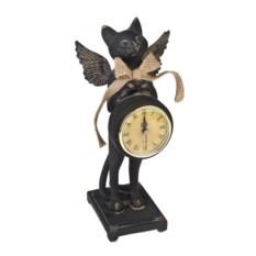 Настольные часы Котик