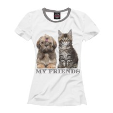 Женская футболка My Friends