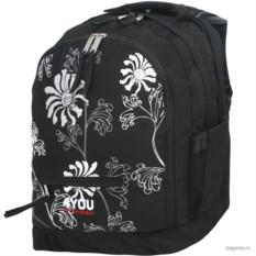 Черный рюкзак 4YOU Girl's Packs