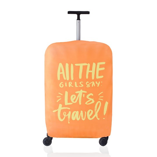 Чехол для чемодана Girls Say