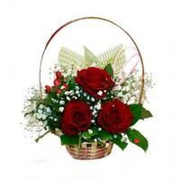 Букет из живых цветов Трио