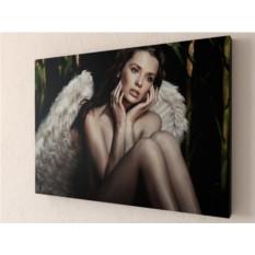 Фотокартина Девушка-ангел