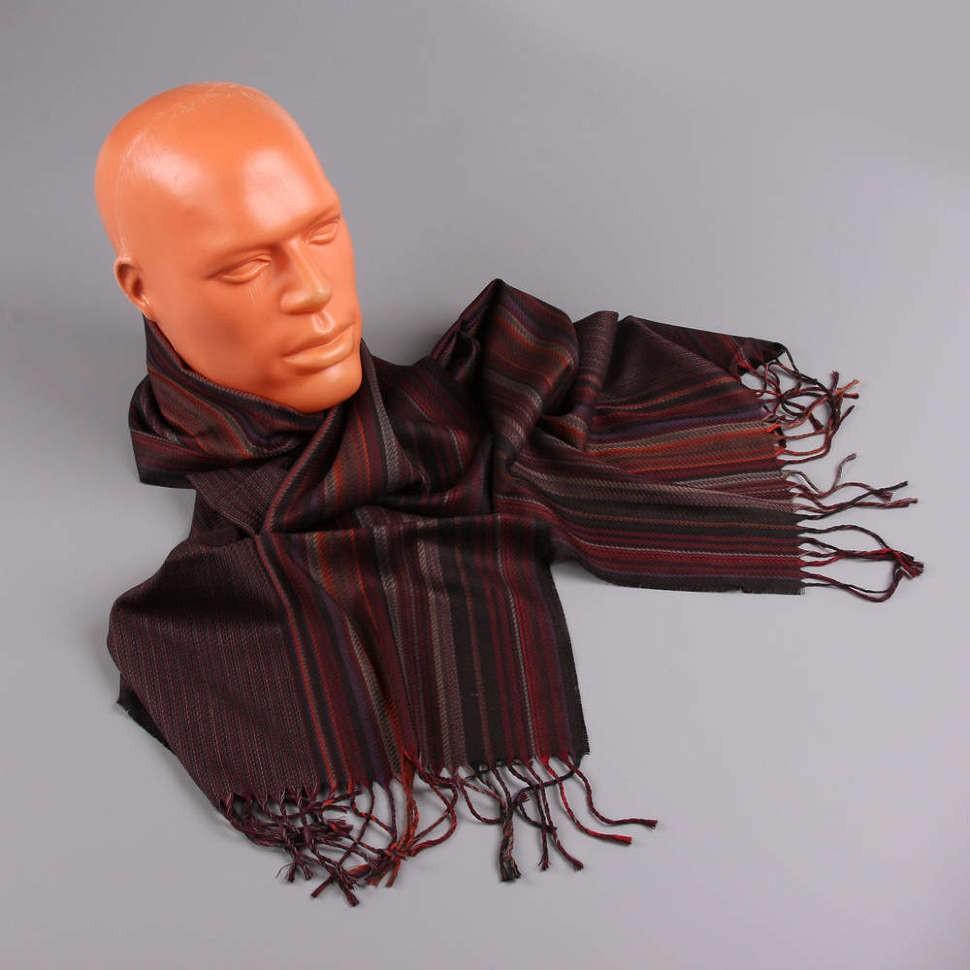 Стильный шарф в полоску Halstech
