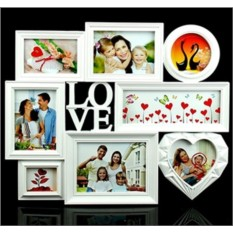 Большая настенная фоторамка Любовь