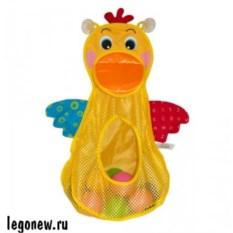 Игрушка для ванной Голодный пеликан с мячиками K_s Kids