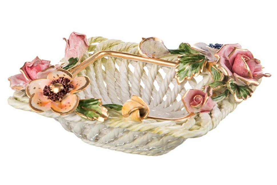 Декоративное изделие Корзина Ceramiche D'arte