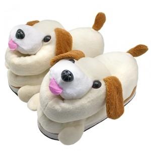 Тапочки Beige dogs