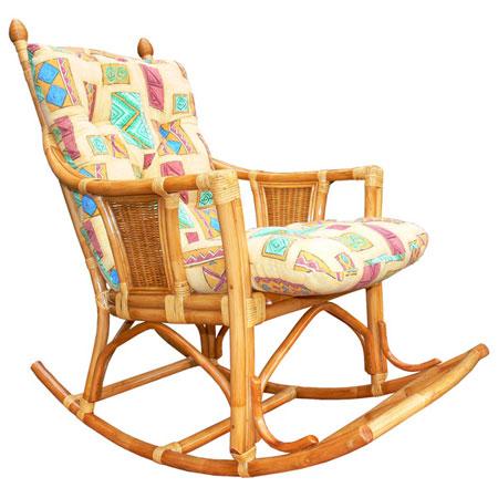 Кресло-качалка «Шарлота» с подушкой
