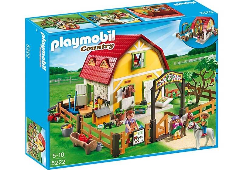 Конструктор Playmobil Конюшня для пони. Лошади