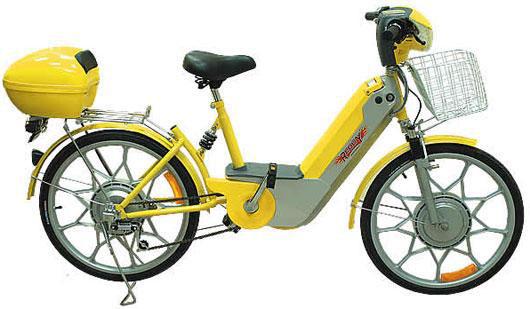 Электрический велосипед REGGY