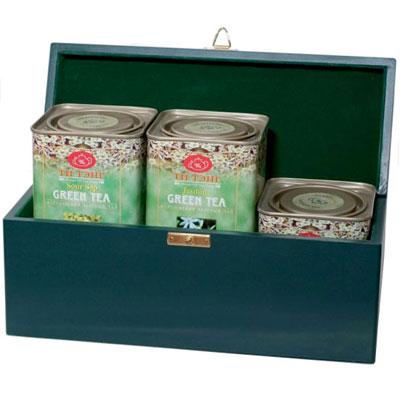 Чай зеленый в банках