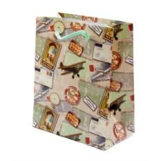 Подарочный пакет 11*14см