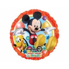 Фольгированный шар Микки и Плуто