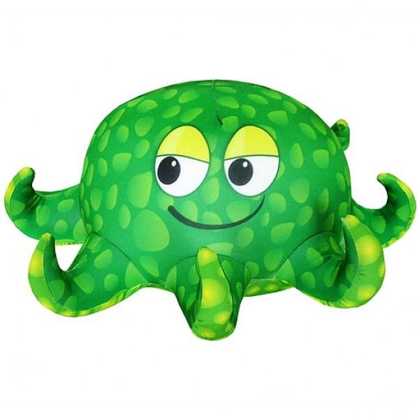 Зеленая игрушка-антистресс Осьминожка