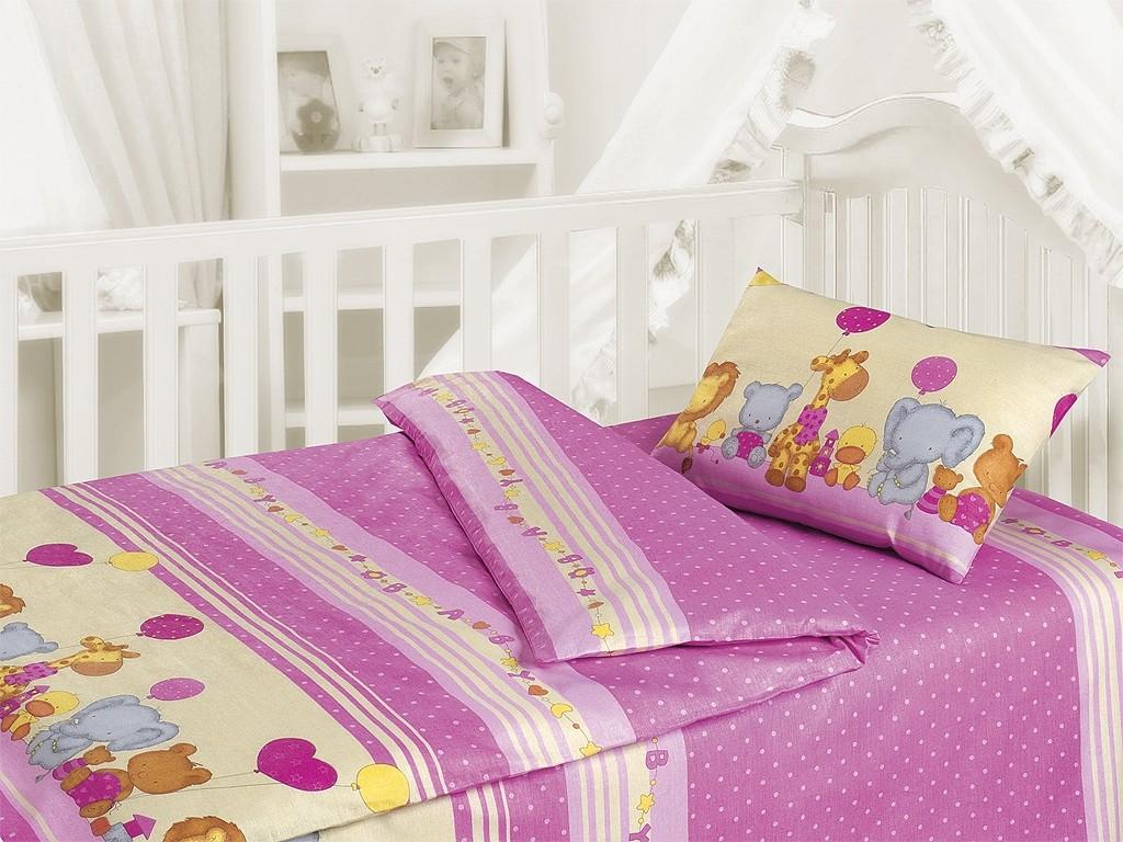 Комплект постельного белья День рождения (ясельный)