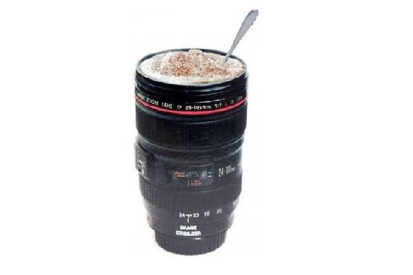 Кружка в виде фотобъектива Canon