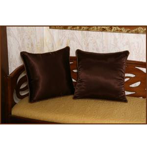 Шелковые подушки «Коричневые»