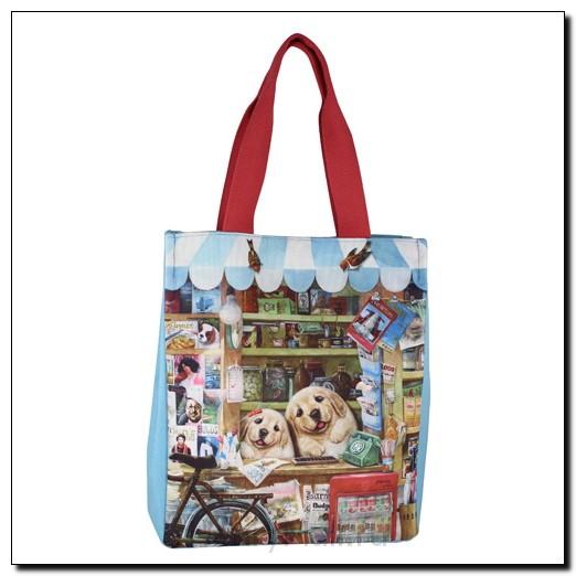 Классическая сумка-тоут «Веселый шоппинг»