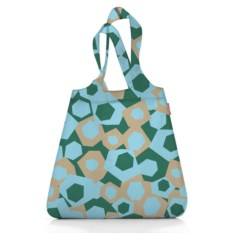 Сумка mini-maxi shopper geometry blue