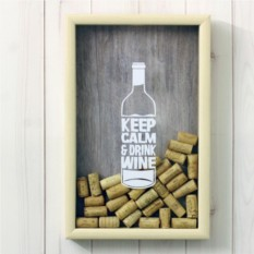 Копилка для винных пробок Keep Calm -wine Bottle