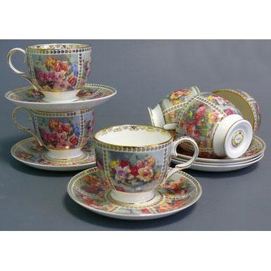 Чайный набор «Букет роз»