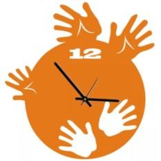 Настенные часы Ладошки
