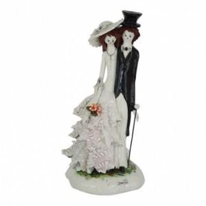 Коллекционная фарфоровая статуэтка Жених и невеста