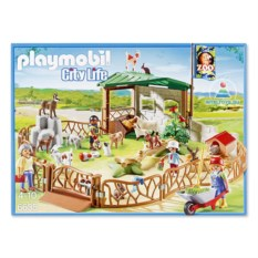 Конструктор Playmobil «Детский контактный зоопарк» City Life