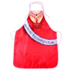 Текстильный фартук Мисс кулинария