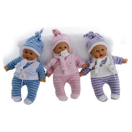 Кукла-младенец Нико в розовом