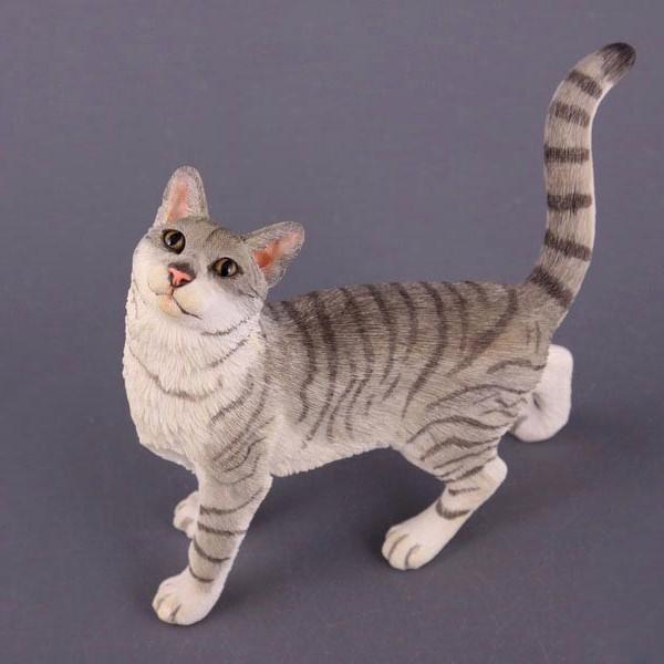 Фигурка декоративная Полосатая Кошка