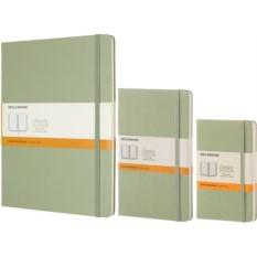 Зеленая записная книжка в линейку Moleskine Classic