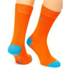 Оранжевые носки Friday Heel