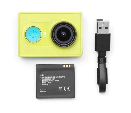 Экшн-камера Yi Action Camera Basic Edition Green