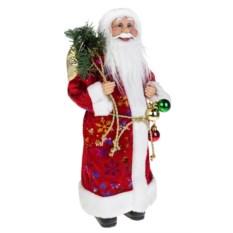 Новогоднее украшение Дед Мороз в красной шубе