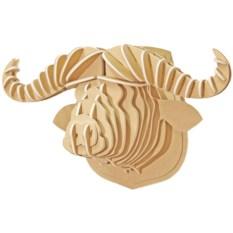 3D конструктор Голова африканского буйвола