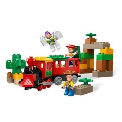 Lego Duplo «Преследование поезда»