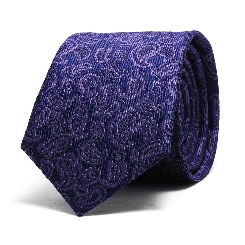 Узкий галстук (пейсли)