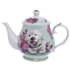Чайник Собачка в цветах