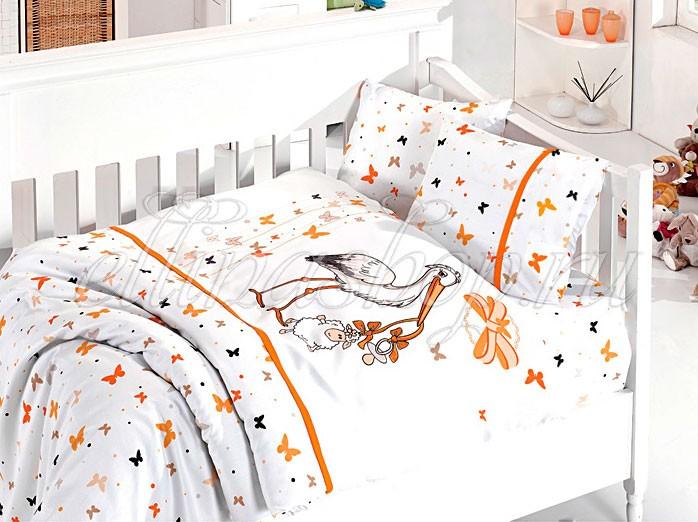 Комплект белья в кроватку из бамбука (First Choice)