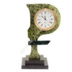 Часы из змеевика Рубль